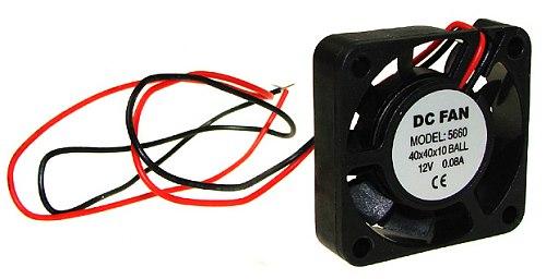 Wentylator 12V 5000RPM 40x10