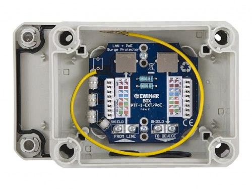 Zabezpieczenie LAN EWIMAR BOX PTF-1-EXT+/PoE