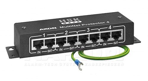 4 kanałowy protector AXON NET 4