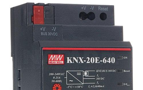 DIN KNX-20E-640 Zasilacz Magistrali