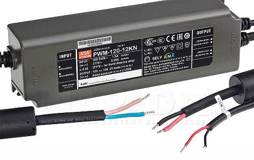 Zasilacz 12V 120W 10A LED
