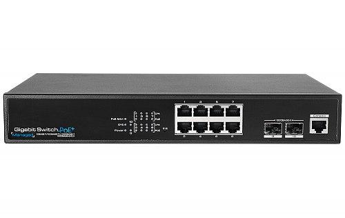 Switch Giga PoE 2L IPOX SW8G-SPL2-U2G-FR