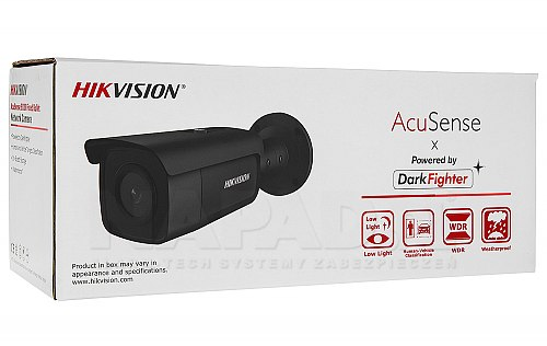 Czarna kamera Hikvision DS 2CD2T86G2 2I
