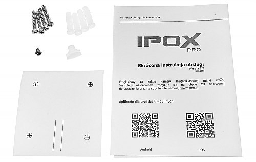 PX-TIP4028IR3AI - kamera 4Mpx IPOX