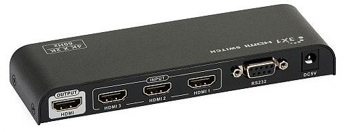 Switch HDMI 3x1 Signal 4K x 2K 60 Hz HDMI 2.0