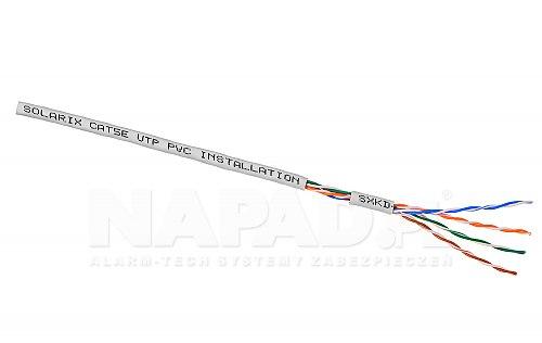 SXKD 5E UTP PVC Kabel LAN U/UTP kat.5e Solarix