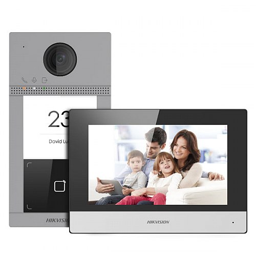 Zestaw wideoodomofonowy Hikvision DS-KIS604-S