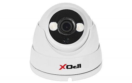 Biała kamera z 2x Array IR LED IPOX PX-DH2002