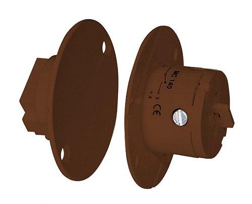 Czujnik kontaktronowy Alarmtech MC 140-B brąz
