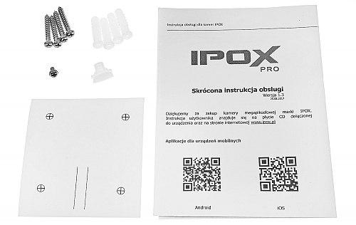 Sieciowa kamera tubowa marki IPOX PX-TI8028IR3AI
