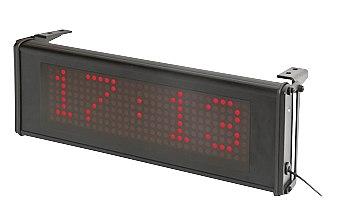 ASCD-1 Wyświetlacz matrycowy LED z zegarem