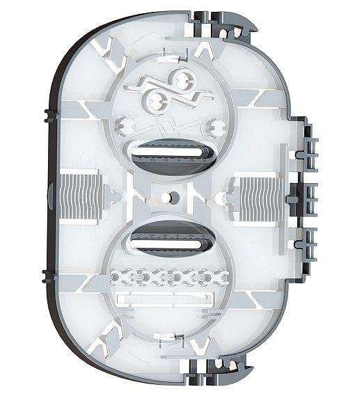 Kaseta światłowodowa SPT06 na 12 / 24 spawy