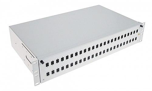 Przełącznica światłowodowa 2U 48xSC simplex
