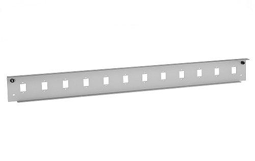 Front panel do przełącznicy 12x SC simplex szary