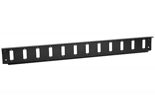 Front panel do przełącznicy 12x SC duplex czarny