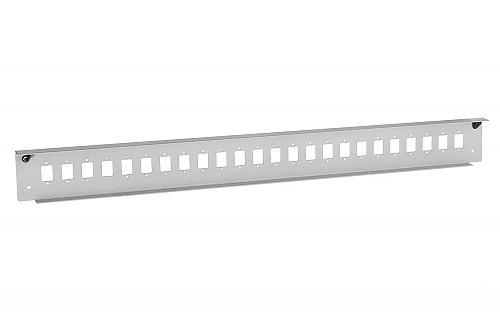 Front panel do przełącznicy 24x SC simplex szary