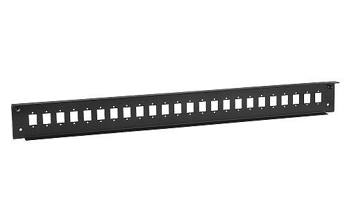 Front panel do przełącznicy 24x SC simplex czarny