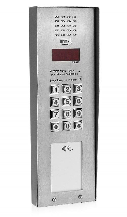 Panel domofonowy Basic Vertical Urmet 1062/101VD-RF