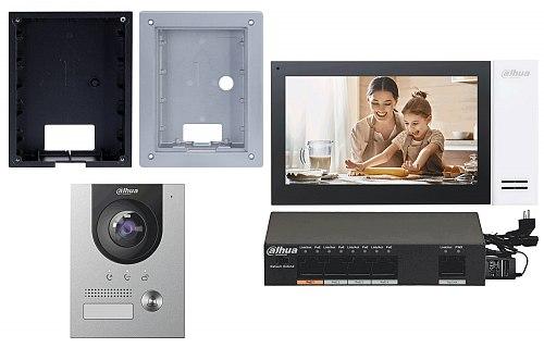 Zestaw wideodomofonowy IP Dahua KTP01(F) podtynkowy