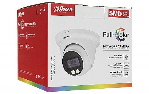 Opakowanie kamery Dahua IPC-HDW3249TM-AS-LED
