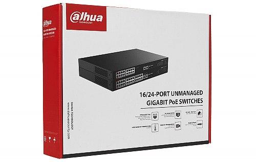 Opakowanie switcha do monitoringu IP Dahua PFS322016GT240
