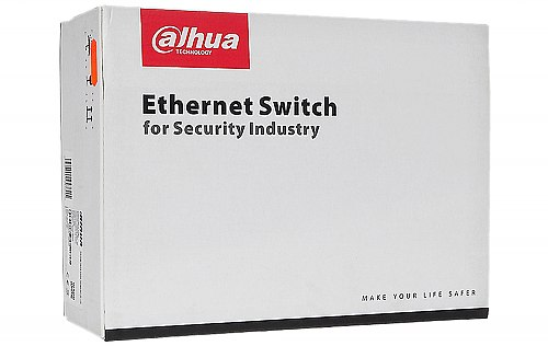 Opakowanie switcha do monitoringu IP Dahua PFS42108GTDP