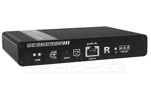 Transmiter HDMI przez kabel sieciowy UTP kat. 6 6A 7 SIgnal 4K60