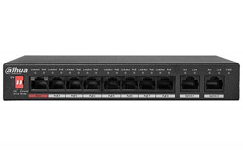 Switch PoE 8-portowy DHI-PFS3010-8ET-96-V2