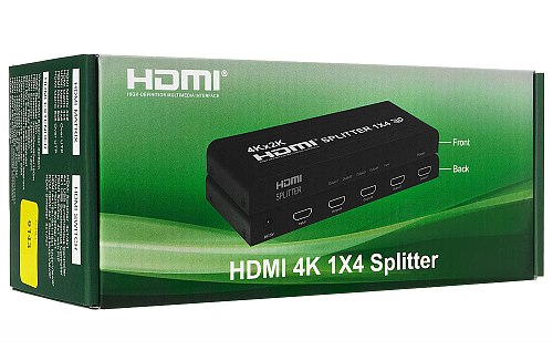 Opakowanie rozgałęźnika HDMI 1/4