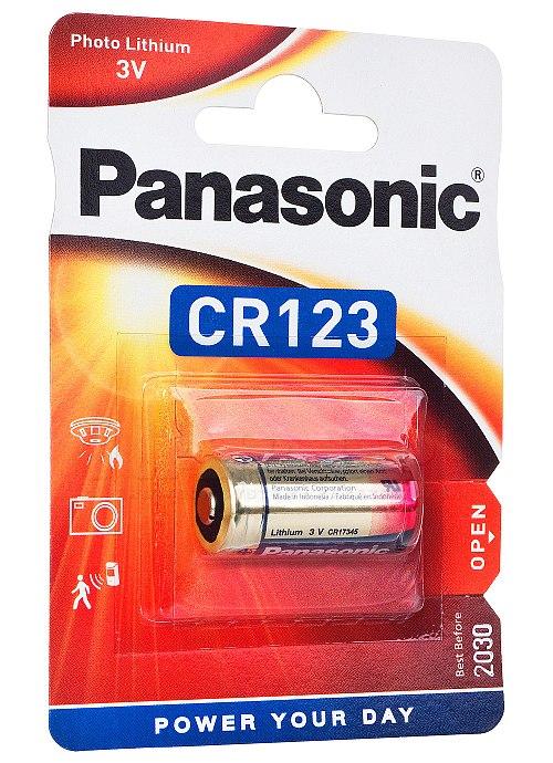 Bateria litowa CR123A Panasonic