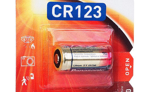 Bateria Panasonic CR-123A