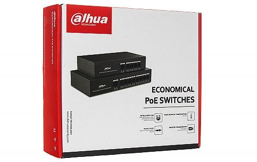 Opakowanie switcha Dahua PFS3005 4ET 36