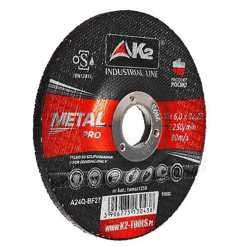 Tarcza do szlifowania metalu K2 125x 6cm tamsz1256