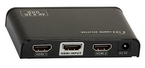 Rozgałęźnik HDMI 1/2 4kx2k HDMI 2.0
