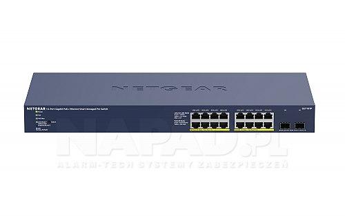 Switch 18-portowy GS716TP-100EUS