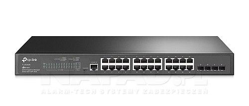 Switch gigabitowy, 24 porty + 2 SFP TL-SG3428
