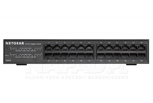 Switch gigabitowy 23-portowy GS324-200EUS
