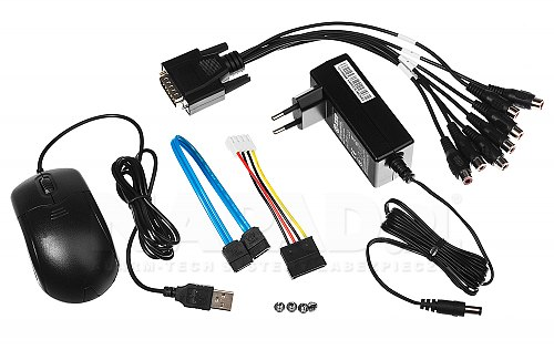 iDS 7208HQHI M1/S - 8-ch rejestrator Analog HD