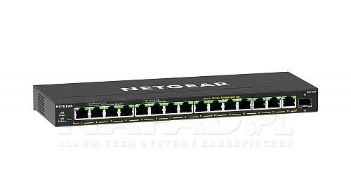 Switch PoE 15-portowy + 1 SFP GS316EP-100PES