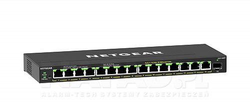 Switch gigabitowy PoE 15-portowy + 1 SFP GS316EPP-100PES