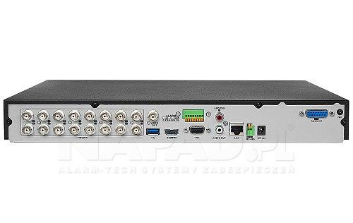 Rejestrator Turbo HD AcuSense iDS 7216HQHI M2 S 16A+4/1ALM