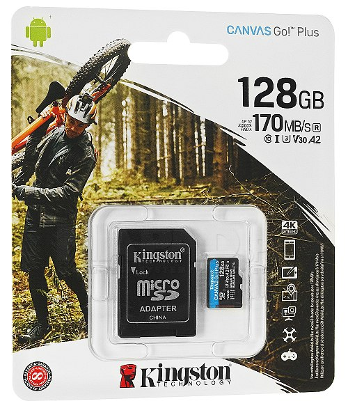 Karta pamięci microSD 128GB Kingston