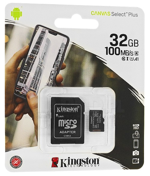 Karta pamięci microSD 32 GB Kingston