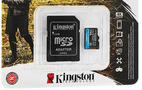 Karta pamięci microSD 64 GB