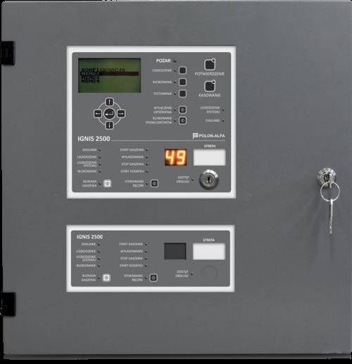 Centrala automatycznego gaszenia IGNIS 2500