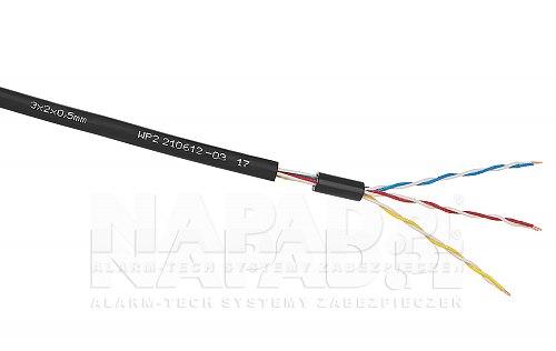 Przewód XzTKMXpw 3x2x0,5mm