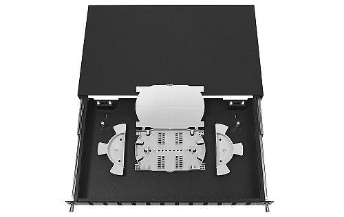 Przełącznica FO 12 porty SC duplex czarna