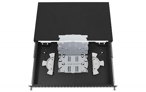 Przełącznica FO 24 porty SC simplex czarna