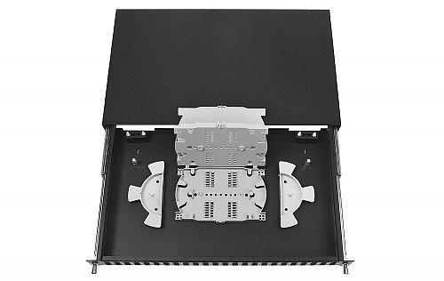 Przełącznica FO 24 porty SC duplex czarna
