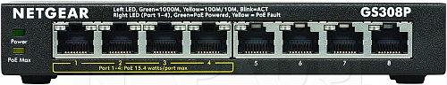Switch PoE 4-portowy Netgear